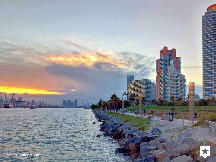 South Beach - South Pointe Park