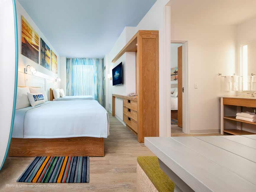 La suite de 2 habitaciones para hospedarse cómodamente en familia