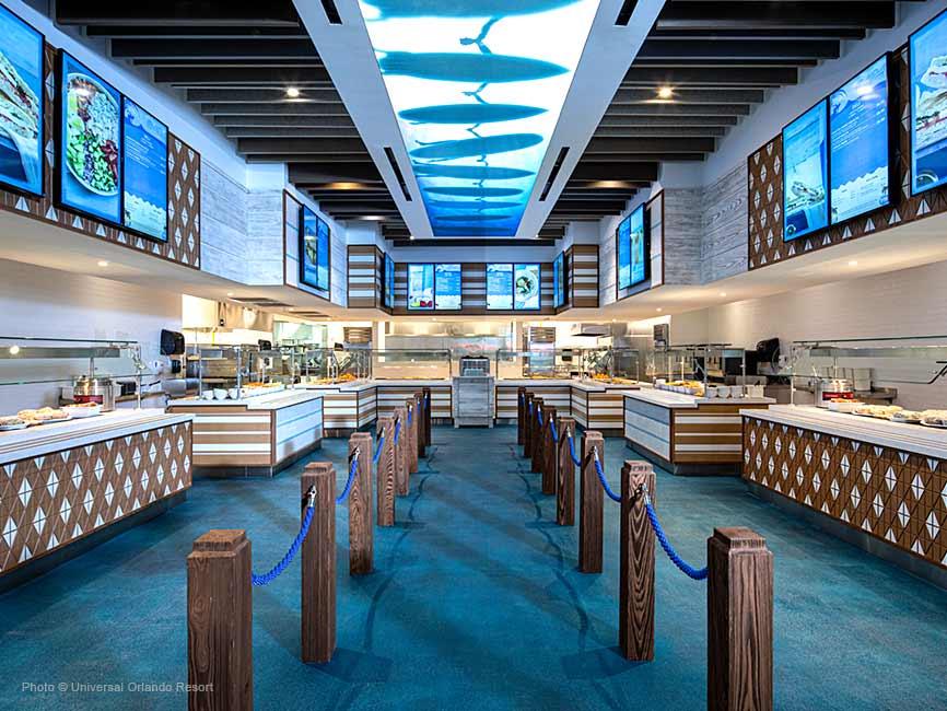 El patio de comidas de Surfside Inn and Suites