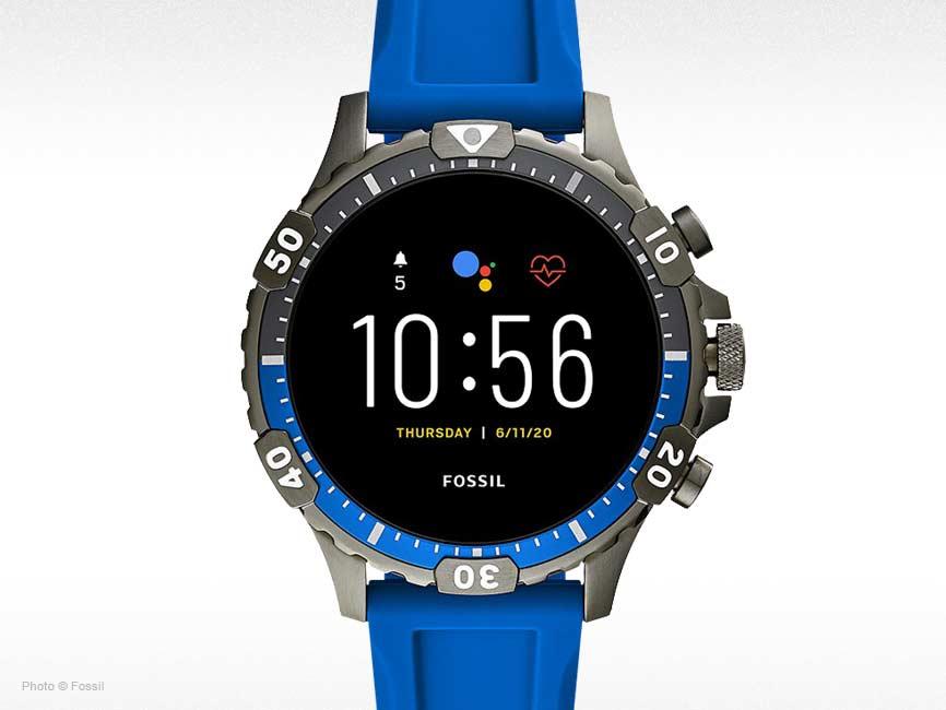 Gen 5 Smartwatch Garrett HR Blue Silicone