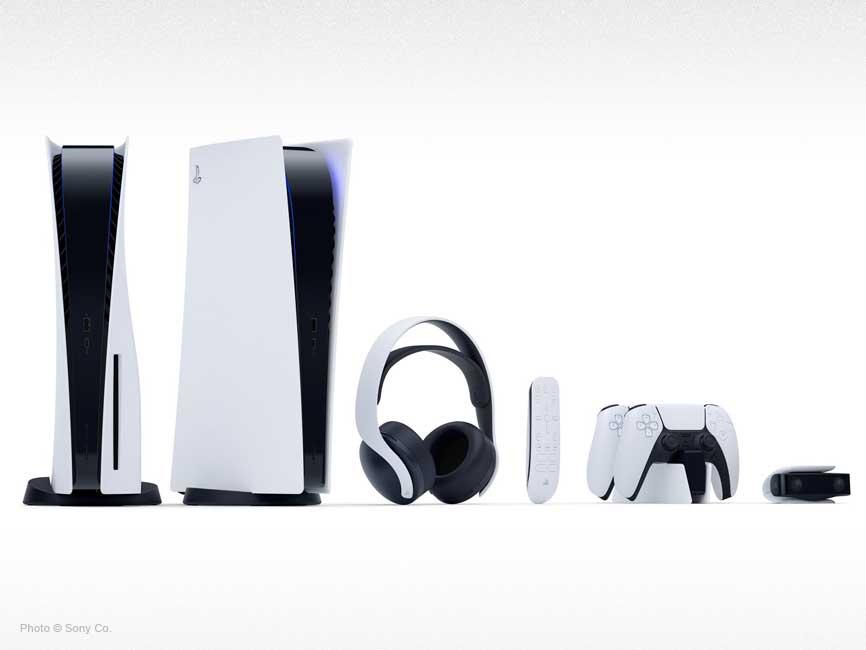 Linea completa de consola y dispositivos PS5