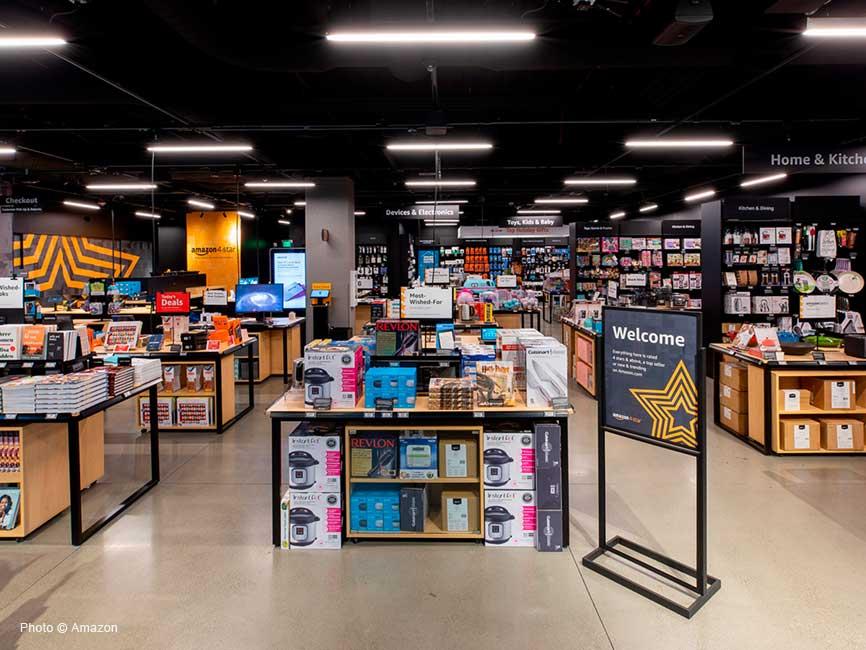 Amazon 4-star en The Mall at Millenia