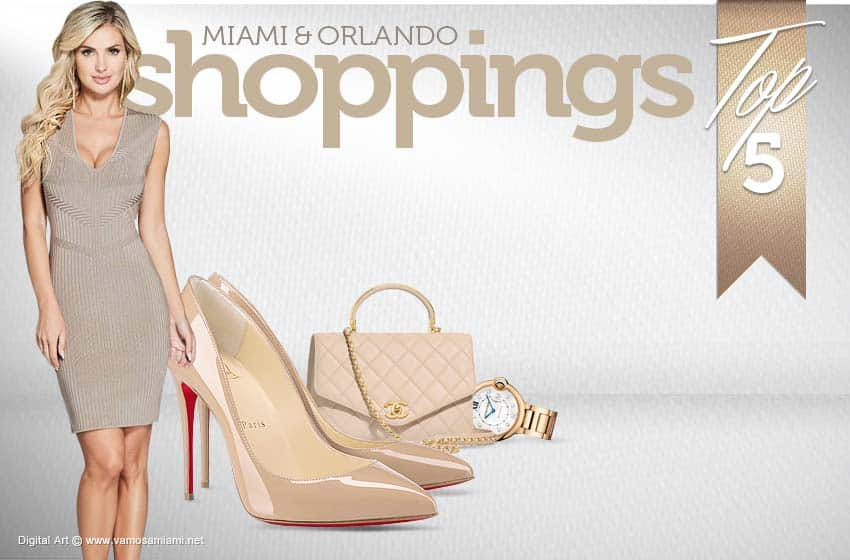 5 Shoppings de Miami y Orlando