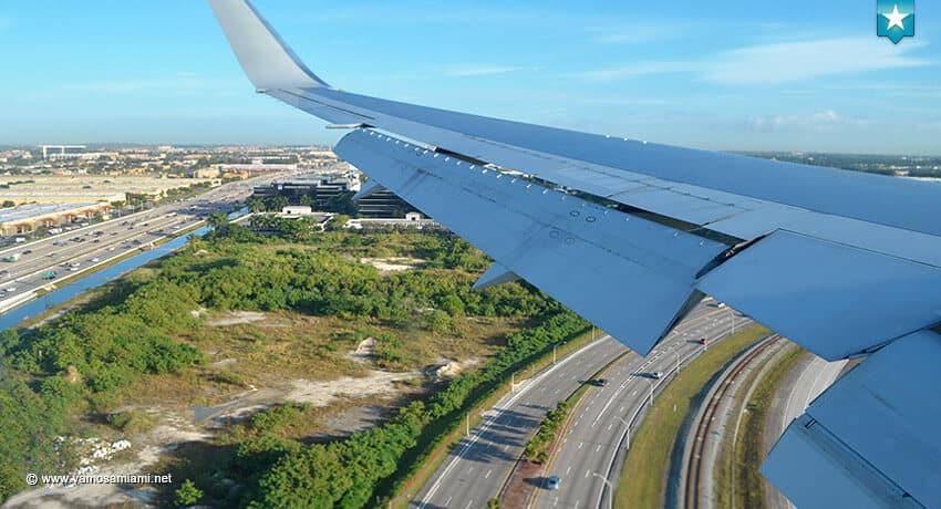 Lineas aéreas a Miami