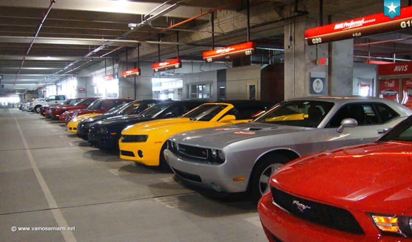 Rentar carro en Miami