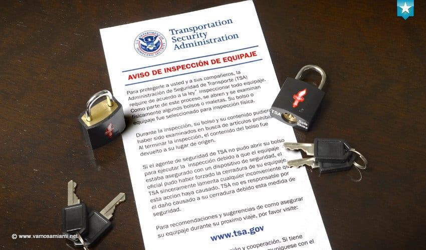 Candados TSA