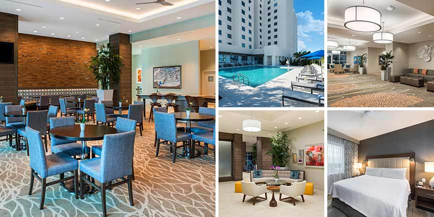 Hoteles cercanos Dolphin Mall - Homewood Suites by Hilton Miami Dolphin Mall