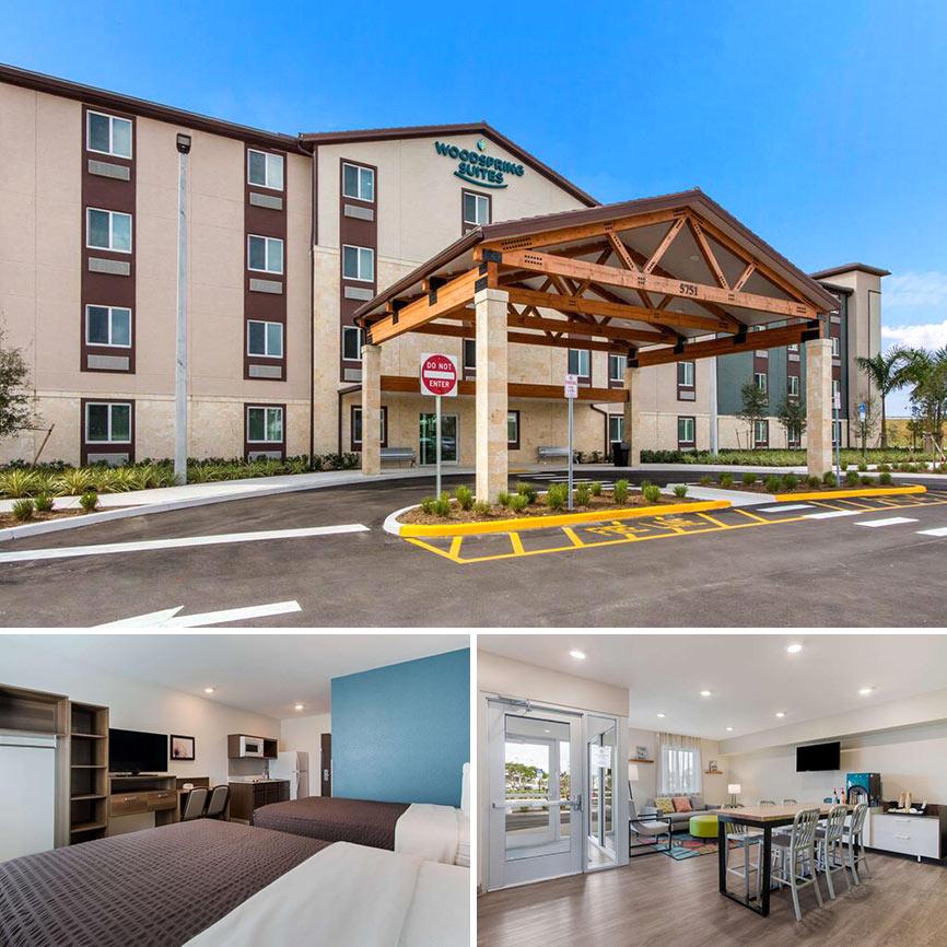 Hoteles cercanos a Sawgrass - WoodSpring