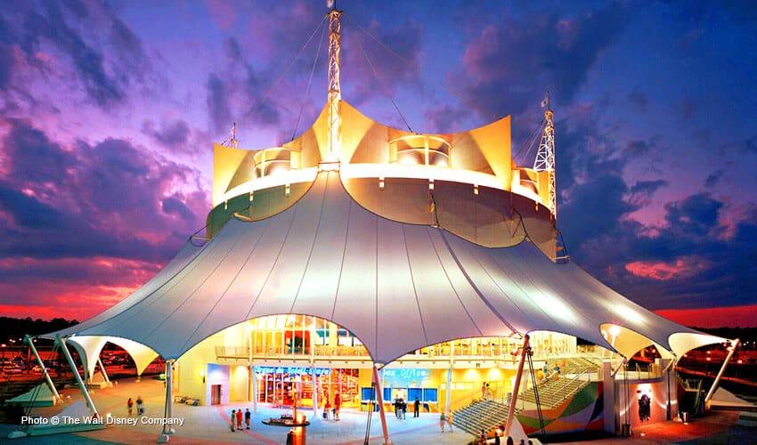 Miami cirque du soleil en disney springs y uno de los for Espectaculo circo de soleil