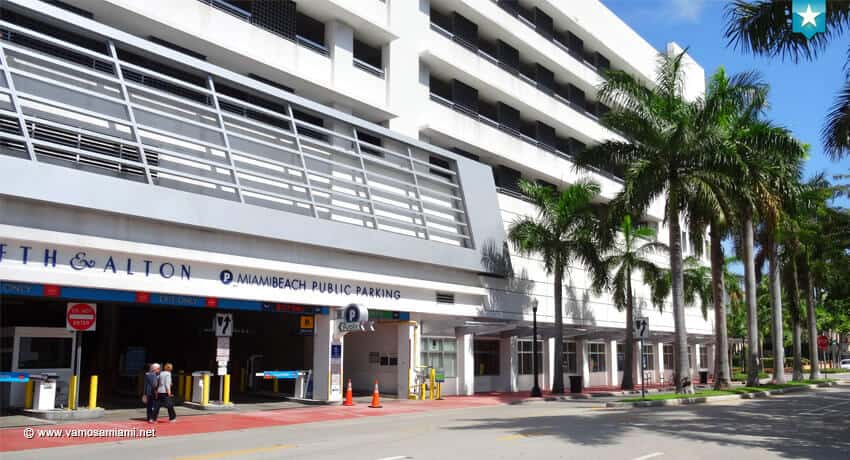 Estacionamientos públicos Miami